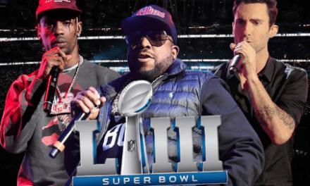 Super Bowl LIII Halftime Confirmed: Maroon 5, Travis Scott, Big Boi