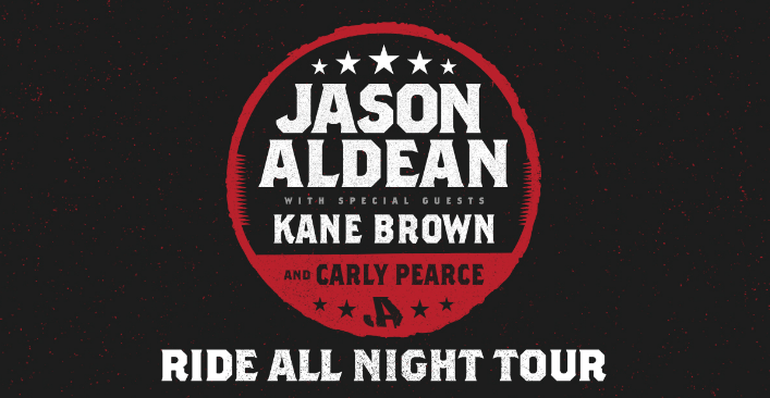 Jason Aldean Sets Off 2019 'Ride All Night Tour' In May