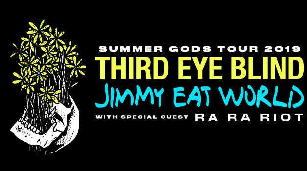 Third Eye Blind and Jimmy Eat World Annc 2019 'Summer Gods Tour' w Ra Ra Riot