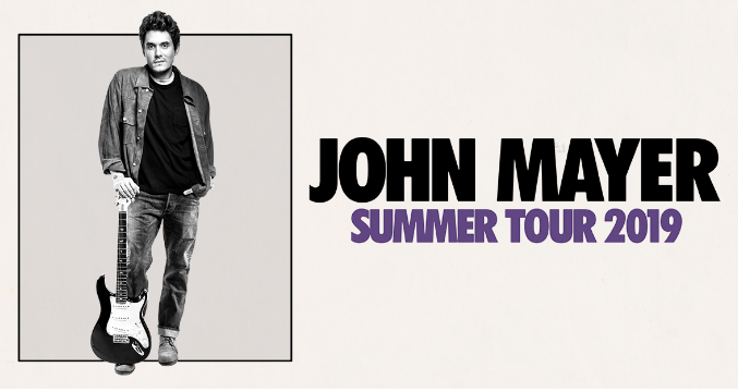Oh Damn!  John Mayer does North America in 2019 — Dates, Cities here