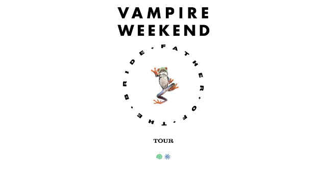 "Take a Bite! Cities, Date List! Vampire Weekend takes ""Father of the Bride"" for North American Tour"