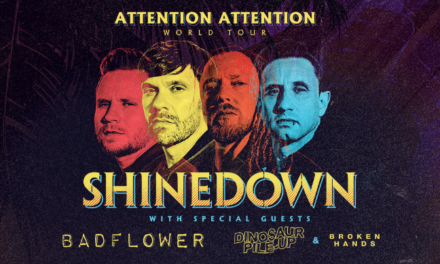 Rock On! Shinedown Annc's Summer Dates for 'Attention Attention' Tour with BadFlower, Dinosaur Pile-Up, Broken Hands