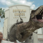 """It Just Got Real: Jurassic World's Iconic Tyrannosaurus rex and Mosasaurus Invade Universal Studios Hollywood for the New Mega Attraction, """"Jurassic World—The Ride"""""""