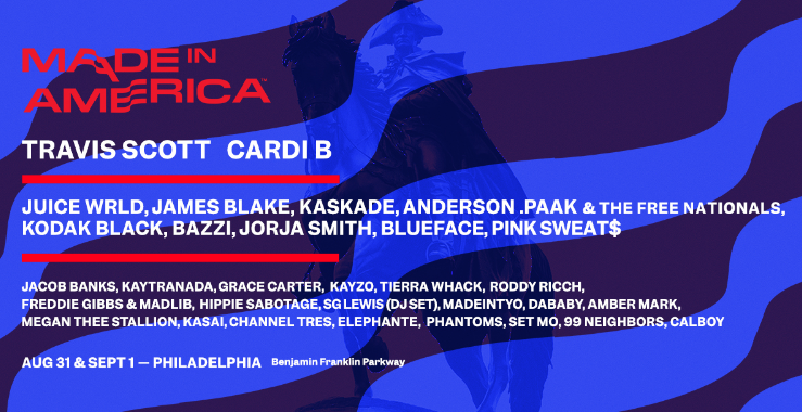 Labor Day: Travis Scott and Cardi B Headline 2019 'Made In America' Festival