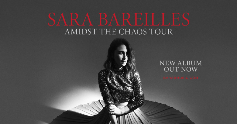 Find Peace in Your Music! Sara Bareilles is Amidst The Chaos Starting this Fall 2019