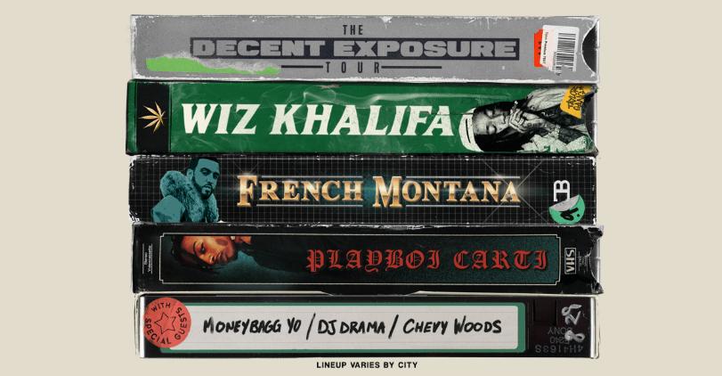 Wiz Khalifa Anncs The Decent Exposure Summer Tour
