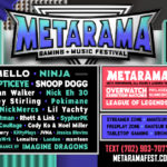 Marshmello, Ninja, Logic, Snoop Dogg, more Play Inaugural Metarama Gaming + Music Fest Oct 19-20 at Las Vegas Festival