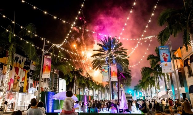 Beverly Hills, Rodeo Drive 'Go Bold' For 3rd Summer