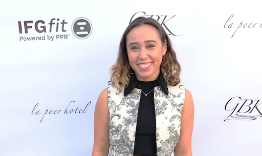 2x ESPY Winner Katelyn Ohashi, St. Louis Blues Annual Pre-ESPY Awards Celebrity Gift Lounge at La Peer Hotel with