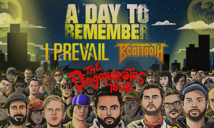 A Day To Remember Anncs Fall 2019 'The Degenerates Tour'