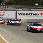 Porsche scores toward possible Sportscar IMSA title win