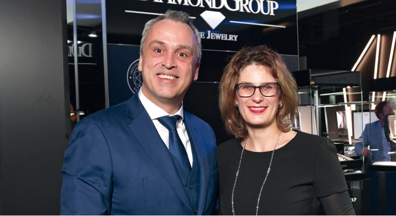 Baselworld: DiamondGroup's Anke Schmidt, Frank Heringer reveal De Beers Diamond Grading Report