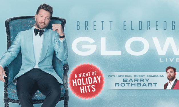 Brett Eldredge's Glow Live Christmas Tour Returns for Holidays 2019