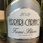 Delivers 'Bright, Crisp, Quality' – 2012 Ferrari-Carano Fumé Blanc – Wine Review