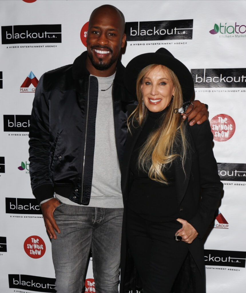 Vernon Davis and Producer Cindy Cowan