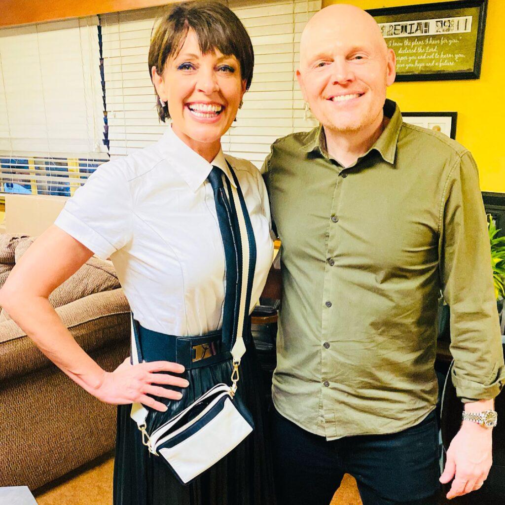 Christine Peake with Bill Burr