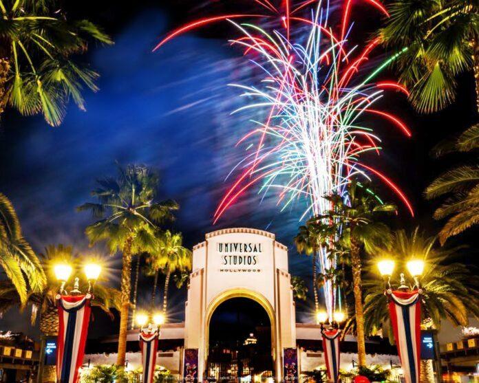Universal Studios Hollywood - July 4 Fireworks