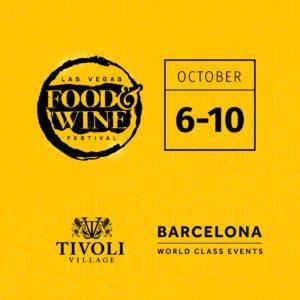 Las Vegas Food Wine Festival October 6-10